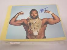 MR T SIGNED AUTOGRAPHED 8X10 PHOTO CERTIFIED COA