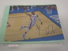 RUSSELL WESTBROOK OKC THUNDER SIGNED AUTOGRAPHED 8X10 PHOTO CERTIFIED COA