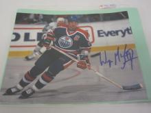 WAYNE GRETZKY OILERS SIGNED AUTOGRAPHED 8X10 PHOTO CERTIFIED COA