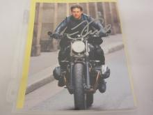 TOM CRUISE SIGNED AUTOGRAPHED 8X10 PHOTO CERTIFIED COA