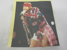 AXL ROSE SIGNED AUTOGRAPHED 8X10 PHOTO CERTIFIED COA