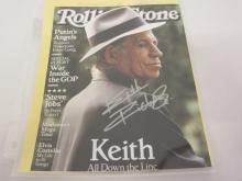 KEITH RICHARDS SIGNED AUTOGRAPHED 8X10 PHOTO CERTIFIED COA