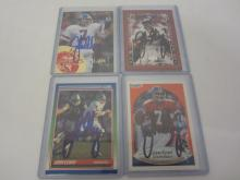 JOHN ELWAY BRONCOS SIGNED AUTOGRAPHED LOT OF 4 SPORTS CARDS CERTIFIED AUTHENTICATEDSIGNEDINK.COM