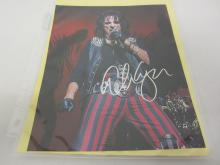 ALICE COOPER SIGNED AUTOGRAPHED 8X10 PHOTO CERTIFIED COA