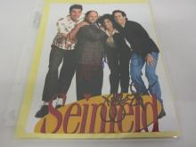 SEINFELD CAST SIGNED AUTOGRAPHED 8X10 PHOTO JERRY SEINFELD AND OTHERS CERTIFIED COA