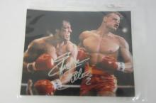 SYLVESTER STALLONE ROCKY SIGNED AUTOGRAPHED 8X10 PHOTO CERTIFIED COA