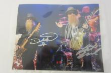 ZZ TOP BAND SIGNED AUTOGRAPHED 8X10 PHOTO CERTIFIED COA