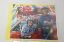 DUKES OF HAZZARD CAST SIGNED 8X10 PHOTO CATHERINE BACH, JOHN SCHNEIDER, TOM WOPAT CERTIFIED COA