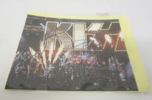 KISS BAND SIGNED AUTOGRAPHED 8X10 PHOTO GENE SIMMONS AND MANY OTHERS CERTIFIED COA