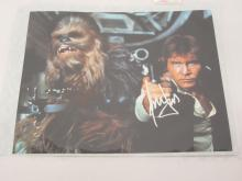 HARRISON FORD, PETER MAYHEW STAR WARS SIGNED AUTOGRAPHED 8X10 PHOTO CERTIFIED COA