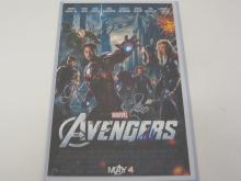 MARVEL AVENGERS CAST SIGNED 10X16 PHOTO ROBERT DOWNEY JR, CHRIS EVANS AND MANY OTHERS CERTIFIED COA