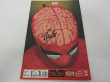 STAN LEE SPIDER-MAN SIGNED AUTOGRAPHED COMIC BOOK CERTIFIED PAASAA.COM