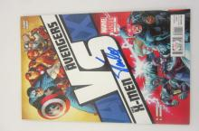 STAN LEE AVENGERS VS X-MEN SIGNED AUTOGRAPHED COMIC BOOK CERTIFIED PAASAA.COM