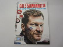 DALE EARNHARDT JR SIGNED AUTOGRAPHED MAGAZINE CERTIFIED AUTHENTICATEDSIGNEDINK.COM