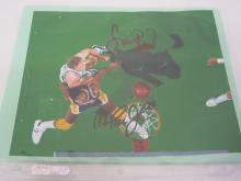 LARRY BIRD, MAGIC JOHNSON SIGNED AUTOGRAPHED 8X10 PHOTO CERTIFIED COA