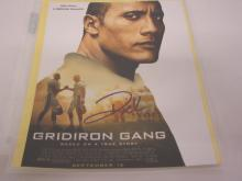 DWAYNE THE ROCK JOHNSON SIGNED AUTOGRAPHED 8X10 PHOTO CERTIFIED COA