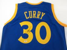 STEPHEN CURRY GS WARRIORS SIGNED AUTOGRAPHED JERSEY CERTIFIED AAA COA