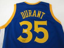 KEVIN DURANT GS WARRIORS SIGNED AUTOGRAPHED JERSEY CERTIFIED AAA COA