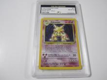 Lot 45: 1999 POKEMON GAME ALAKAZAM BASE SET -HOLO GRADED NM-MT 8