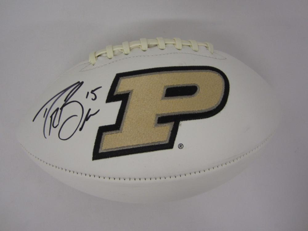 DREW BREES SIGNED AUTOGRAPHED PURDUE FOOTBALL COA