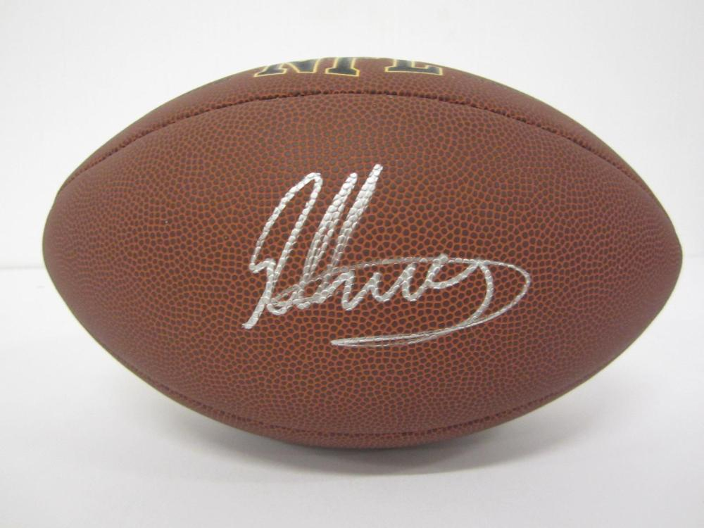 Lot 82: TODD GURLEY SIGNED AUTOGRAPHED NFL SUPER GRIP FOOTBALL COA