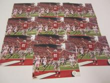 Lot 91: (10)NICK VANNETT SIGNED AUTOGRAPHED OHIO STATE 8X10 COA