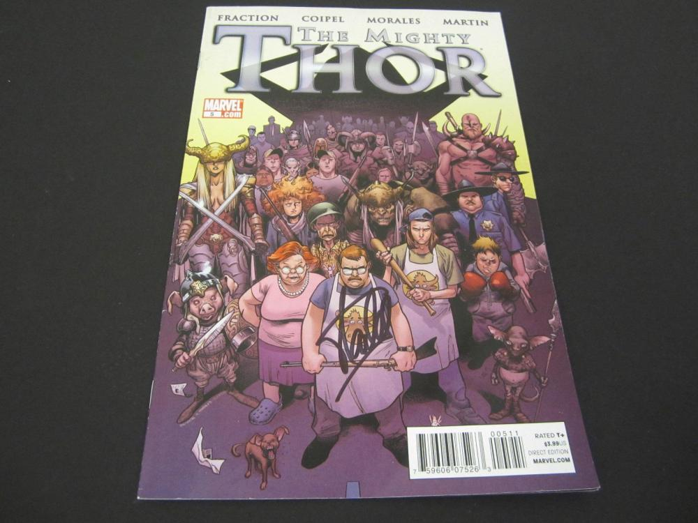 Lot 102: STAN LEE SIGNED AUTOGRAPHED MARVEL THOR COMIC BOOK COA