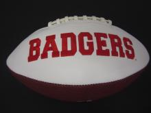 Lot 110: RUSSELL WILSON SIGNED AUTOGRAPHED BADGERS FOOTBALL COA