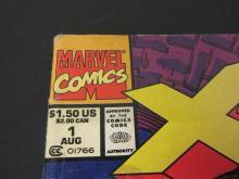 Lot 125: X-FORCE #1 MARVEL COMIC BOOKS