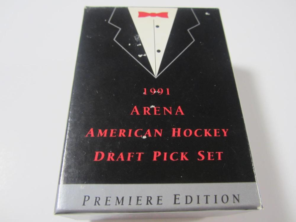 1991 ARENA AMERICAN HOCKEY DRAFT PICK SET COMPLETE
