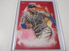 Lot 191: 2019 TOPPS BASEBALL COREY SEAGER RED 56/75