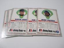 Lot 197: 1993 BASEBALL JIMMY DEAN COMPLETE SET