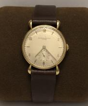 VINTAGE 1940's VACHERON CONSTANTIN 18K GOLD TEAR DROP FANCY LUGS V458 WRISTWATCH