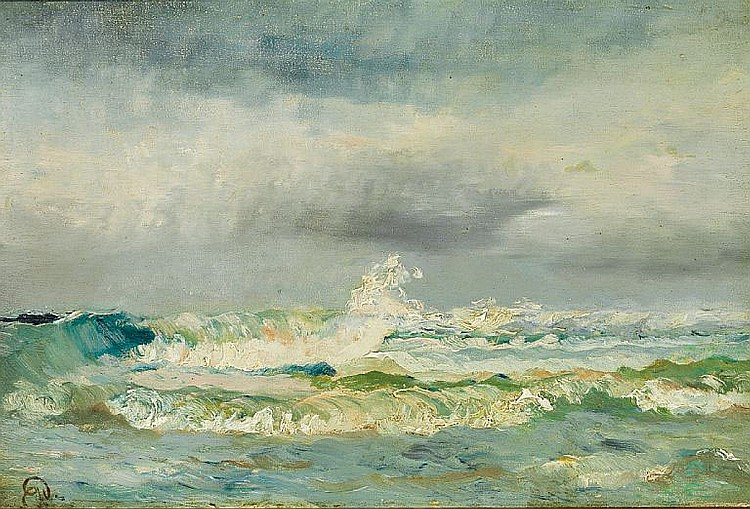 Holger Drachmann: Breakers.