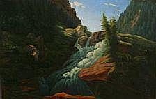 : Carl Anton Saabye: Fertile Norwegian landscape