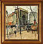 Knud Ove Hilkier: A street scenery fom Paris., Knud Ove Hilkier, Click for value