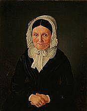 Jean Meno Haas: Portrait of an elderly woman in a