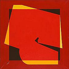 Kai Führer: Composition, 1978. Signed and dated on