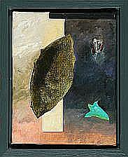"""Bent Holstein: """"Black Float"""". Signed on the"""