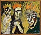 Lars Dan: Three kings. Signed on the reverse Lars, Lars Dan, Click for value