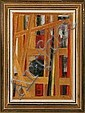 Knud Agger: Composition. Signed Agger. Oil on, Knud Agger, Click for value