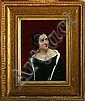 Johan Vilhelm Gertner: Portrait of a woman. Signed, Johan Vilhelm Gertner, Click for value