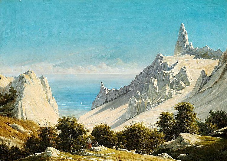 Georg Emil Libert: Summer day with a view of