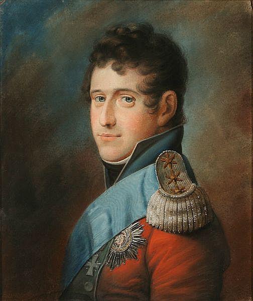 F. C. Gröger: Portrait of King Christian VIII