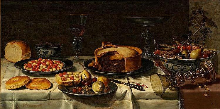 Floris Gerritsz van Schooten: Breakfast piece.