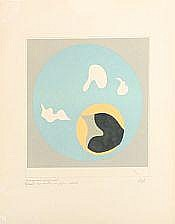 Jean Hans Arp: Composition. Unsigned, numbered