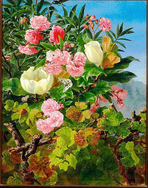 Anthonore Christensen: Oleanders and magnolias.