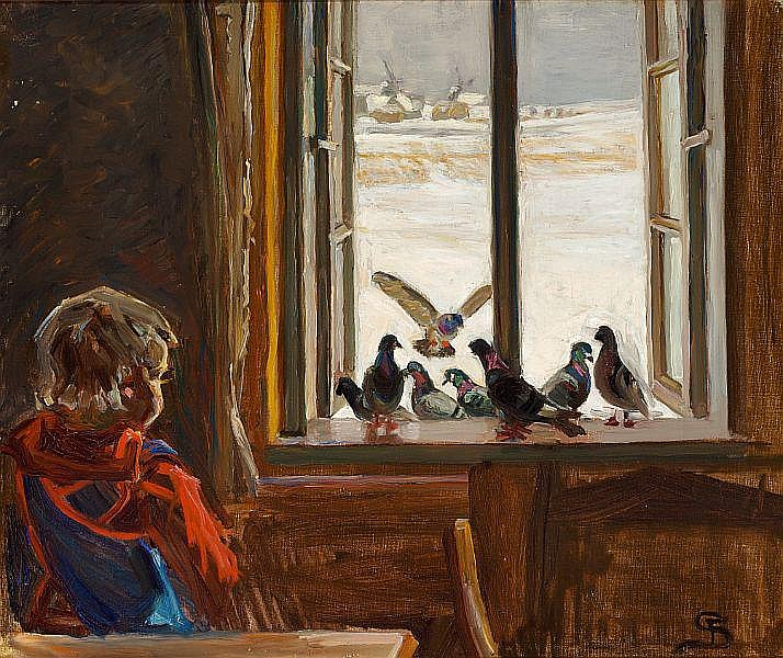 Fritz Syberg Artwork For Sale At Online Auction Fritz