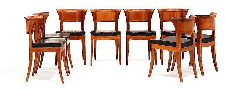 Leon Krier Dinning Room Suite Consisting Of