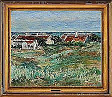 William Stuhr: Motif from Skagen. Signed W. Stuhr